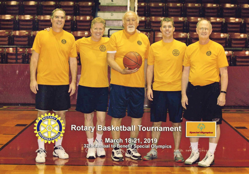 Rotary Basket Ball team