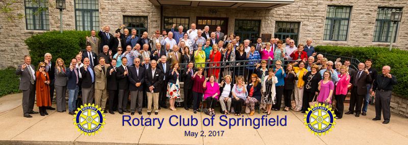 Rotary Club of Springfield for  their Centennial Anniversary,  2019