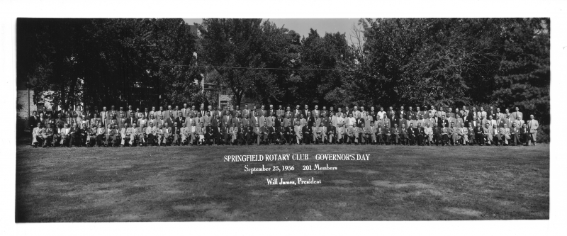 Rotary Club of Springfield 1956