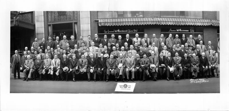 Rotary Club of Springfield 1936